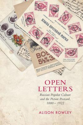 Open Letters By Rowley, Alison